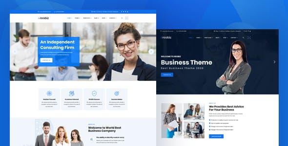 Reobiz - Consulting Business WordPress Theme