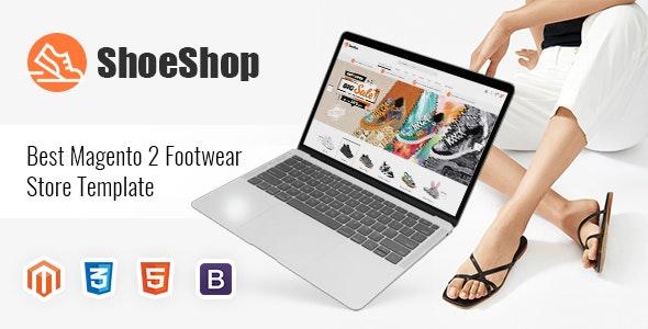 ShoeShop - Footwear Store Magento 2 Theme - Magento eCommerce