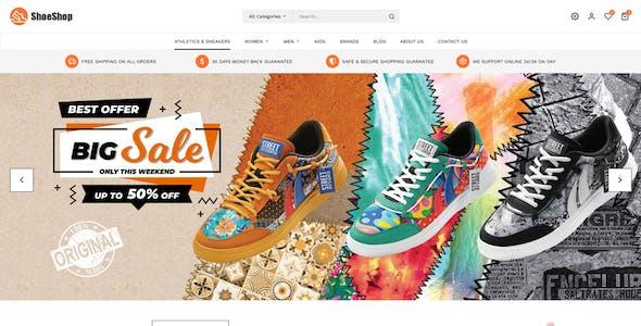 ShoeShop - Footwear Store Magento 2 Theme