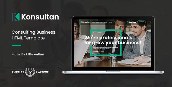 Konsultan | Consulting Business HTML Template