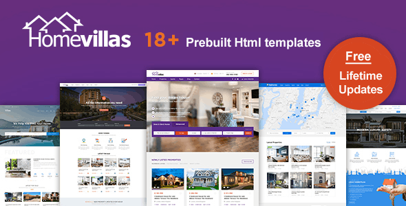 Home Villas | Real Estate Html Template - Business Corporate
