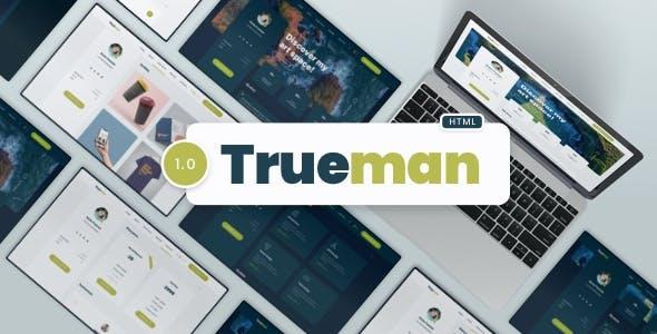 Trueman - CV Resume Template