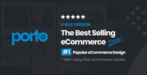Porto - VueJS eCommerce Template