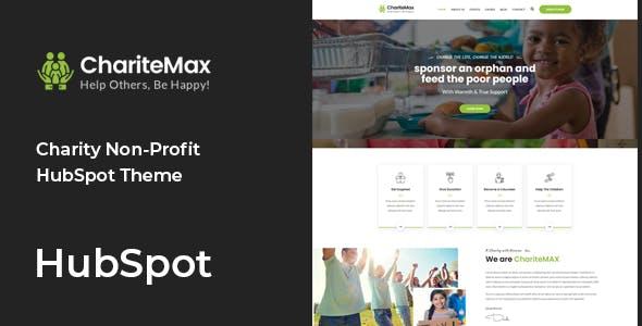 ChariteMax - Charity NonProfit HubSpot Theme