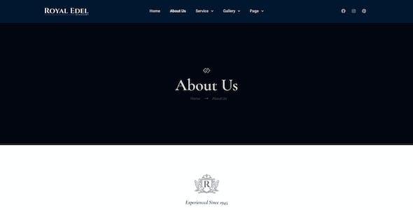 Edel - Luxury Jewelry Elementor Template Kit
