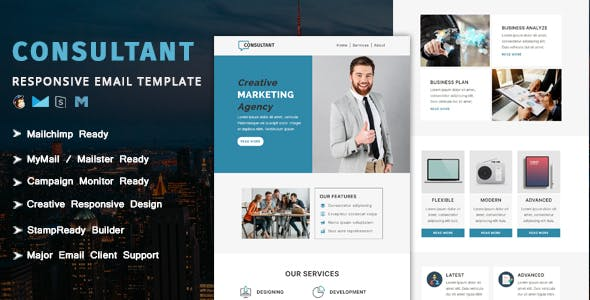 Consultant - Multipurpose Responsive Email Template