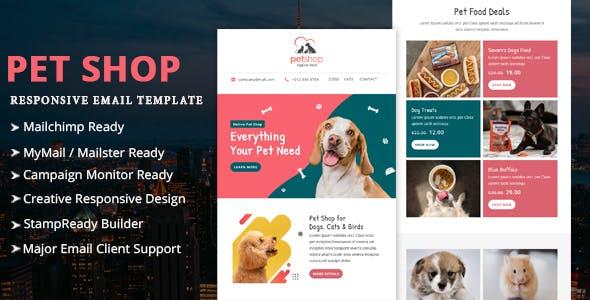 Pet Shop - Multipurpose Responsive Email Template