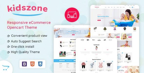 KidsZone - Multipurpose Kids & Children Fashion Store - Fashion OpenCart