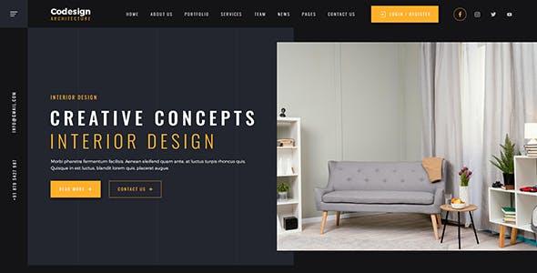 CoDesign - Architect & Interior WordPress Theme