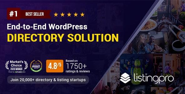 ListingPro - Directory WordPress Theme - Directory & Listings Corporate