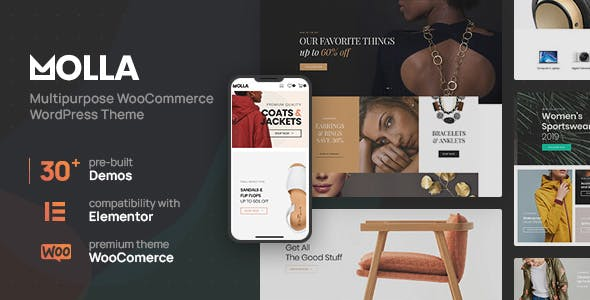 Molla | Multi-Purpose WooCommerce Theme