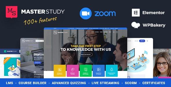 Education WordPress Theme - Masterstudy - Education WordPress