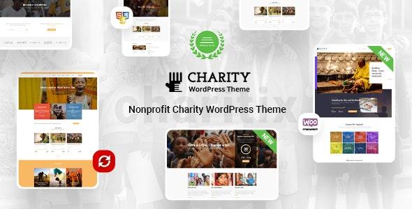 Charitix | Nonprofit Charity WordPress Theme - Charity Nonprofit