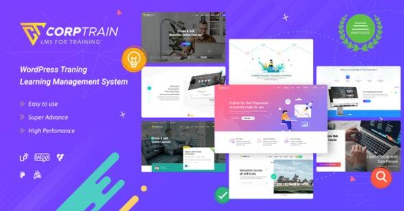 CorpTrain | Corporate Training WordPress Theme - Education WordPress
