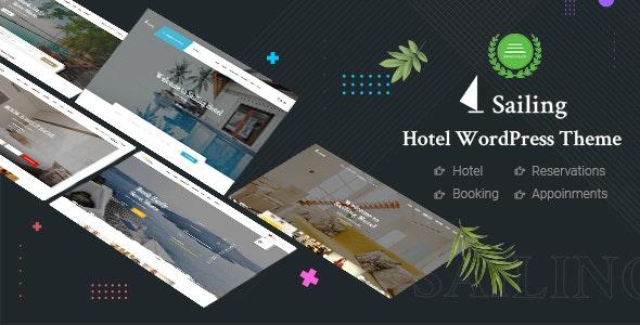 Hotel WordPress Theme | Sailing - Travel Retail