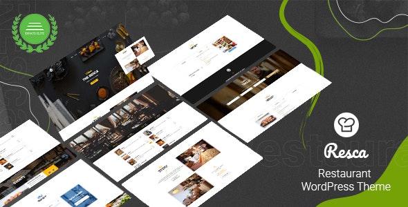 Resca v2.9.2 – Restaurant WordPress Theme