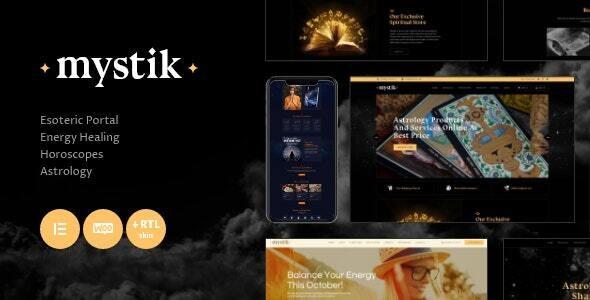 Mystik | Astrology & Esoteric Horoscope Fortune Telling WordPress Theme + RTL - Health & Beauty Retail