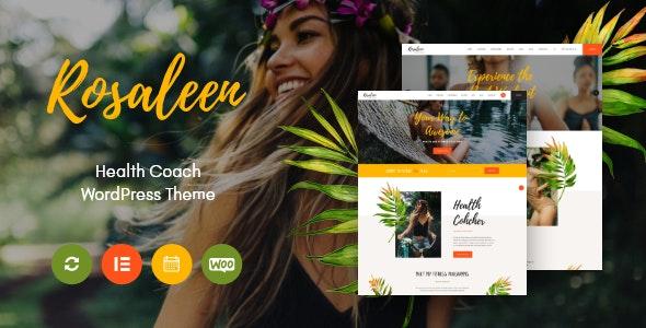 Rosaleen v1.0.3 – Health Coach, Speaker & Motivation WordPress Theme