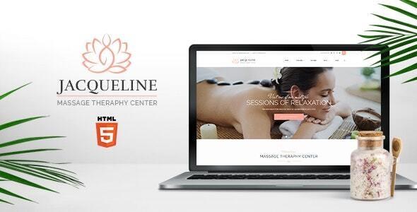 Jacqueline   Spa & Massage Salon Site Template - Health & Beauty Retail