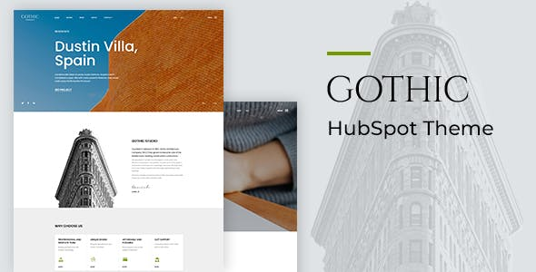 Gothic - Architecture HubSpot Theme