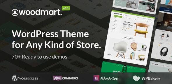 WoodMart v6.1.3 – Responsive WooCommerce WordPress Theme