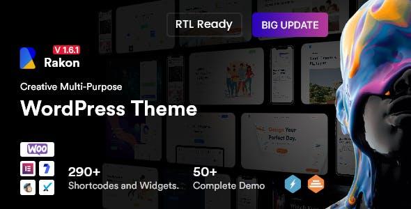 Rakon - Creative Multi-Purpose WordPress Theme