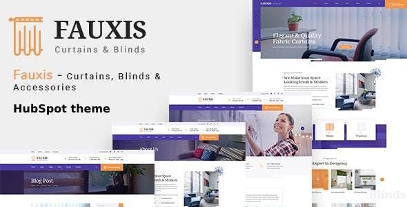 Fauxis - Windows Curtains HubSpot Theme
