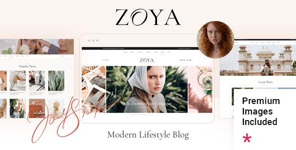 Zoya - Lifestyle Blog - Personal Blog / Magazine