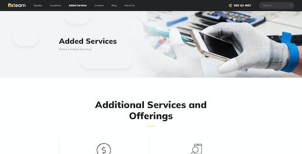 FixTeam   Electronics & Mobile Devices Repair WordPress Theme