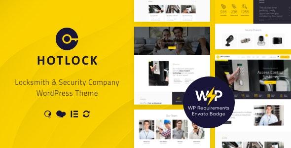 HotLock | Locksmith & Security Systems WordPress Theme + RTL - Business Corporate