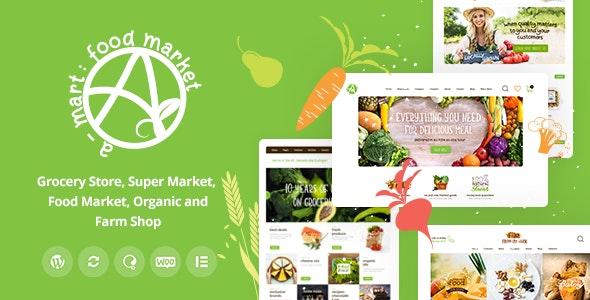 A-Mart - Organic Products Shop WordPress Theme - WooCommerce eCommerce