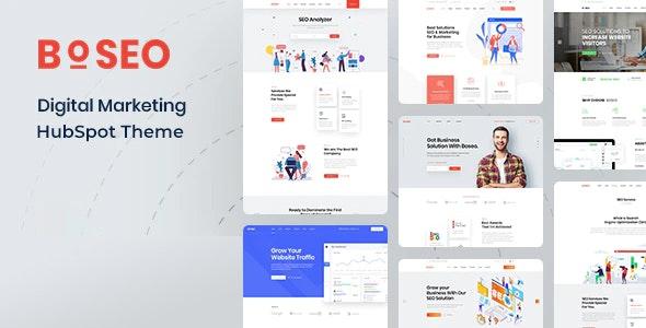 Boseo - Digital Marketing HubSpot Theme - Corporate HubSpot CMS Hub
