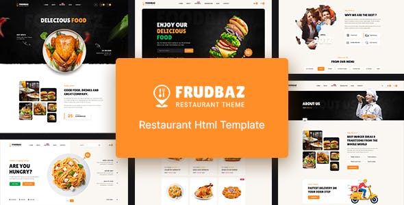 Frudbaz - Restaurant HTML Template