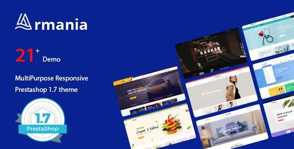 Armania - Responsive Prestashop 1.7. Themes - Shopping PrestaShop