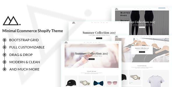 Mira - Minimalist eCommerce Shopify Theme