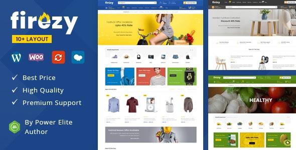 Firezy – Multipurpose WooCommerce Theme (7 July 2021)