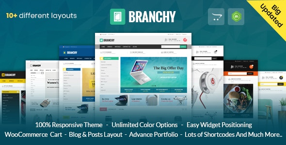 Branchy - Opencart 3 & 2 Responsive Theme - Technology OpenCart