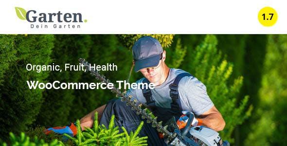 Garten - Farmer Shop WooCommerce Theme