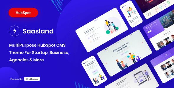 Saasland - MultiPurpose HubSpot CMS Theme - Corporate HubSpot CMS Hub