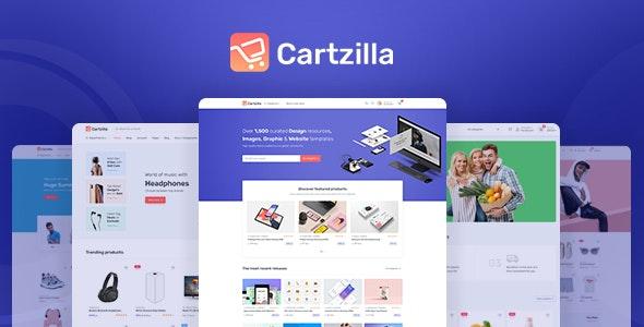 Cartzilla v1.0.13 – Digital Marketplace & Grocery Store WordPress Theme