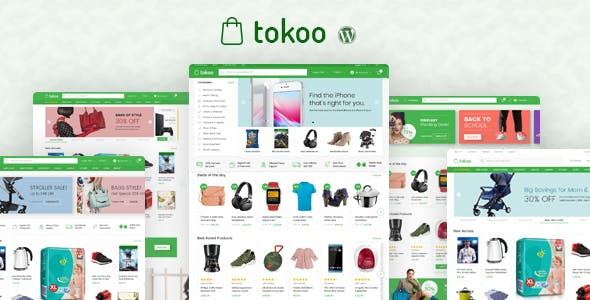 Tokoo - Electronics Store WooCommerce Theme for Affiliates, Dropship and Multi-vendor Websites