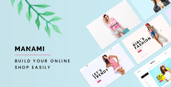 Manami - Minimal WooCommerce Theme - WooCommerce eCommerce