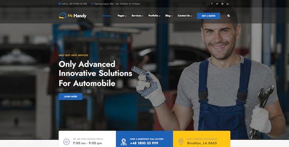 MrHandy – Handyman Services WordPress Theme
