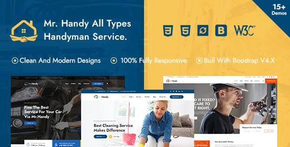 MrHandy – Handyman Multi-Services HTML Template