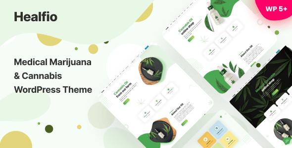 Healfio - Medical Marijuana & Coffeeshop WordPress Theme - Health & Beauty Retail