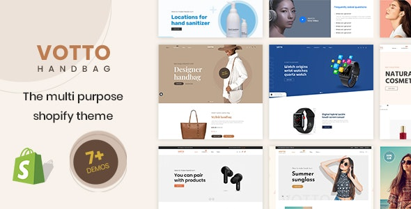 Votto - The Single product Multipurpose Shopify Theme - Shopping Shopify