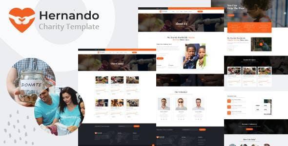 Hernando - Charity NonProfit HubSpot Theme