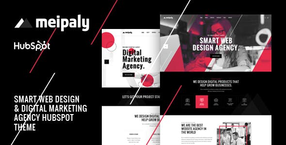 Meipaly - Digital Services Agency Hubspot Theme