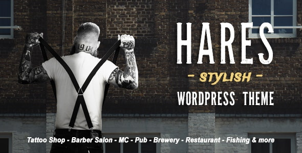 Hares - A Stylish WordPress Theme - Art Creative