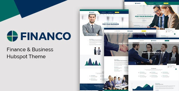 Financo - Investment HubSpot Theme - Corporate HubSpot CMS Hub